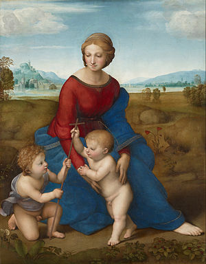 One of the most famous Madonnas by Raphael